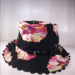Lulu Guinness floral hat